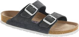 BIRKENSTOCK ARIZONA NARROW FIT GUNMETAL