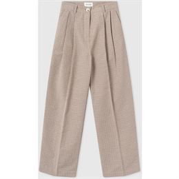 WOOD WOOD SUNNA TROUSERS GREEN CHECK