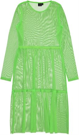 LMTD NLFHARISSA LS DRESS GREEN
