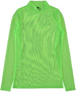 LMTD TURTELLNECK TOP NEON GRØN