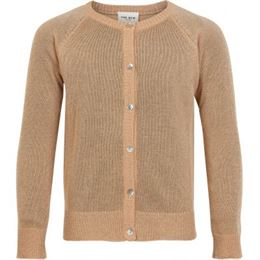 THE NEW GLITTER CARDIGAN PEACH