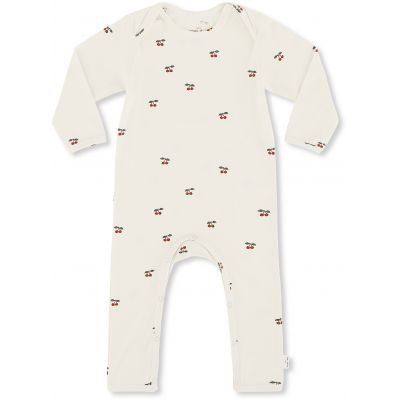 KONGES SLØJD HYGSOFT ONESIE CHERRY