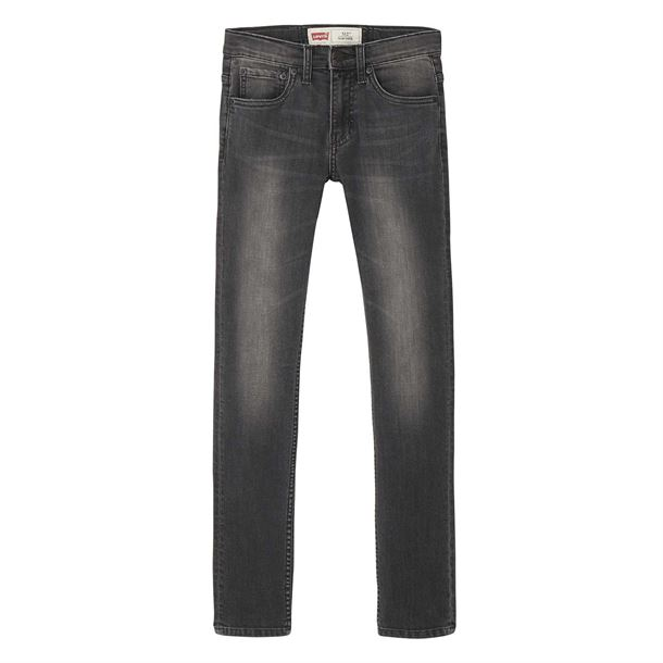 LEVIS 512 SLIM TAPER JEANS BELOW WAIST BLACK