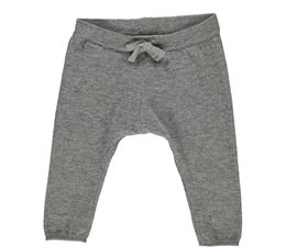 MARMAR PILU LIGHT COTTON WOOL PANT GREY MELANGE
