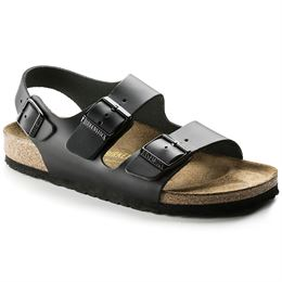 BIRKENSTOCK MILANO NARROW FIT BLACK