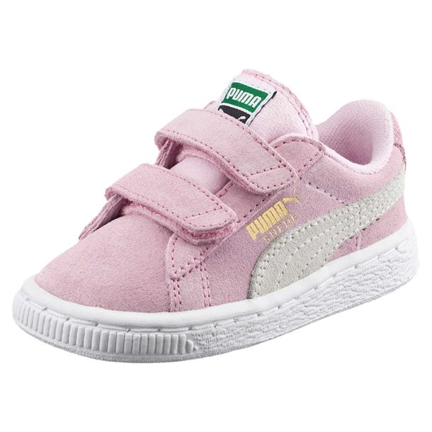 Puma sneakers suede 2 straps pink lady