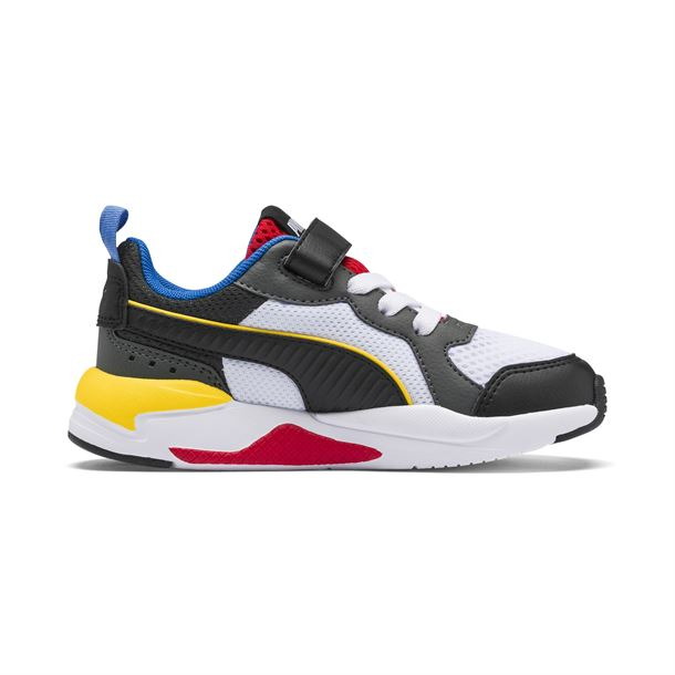 PUMA X-RAY AC PS YELLOW/RED/BLUE