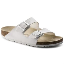 BIRKENSTOCK ARIZONA NARROW FIT BIRKO-FLOR WHITE