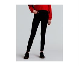 LEVIS MILE HIGH SUPER SKINNY EXTRA HIGH RISE BLACK