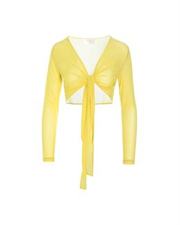 HOSBJERG ROANNE JOLIE TOP YELLOW