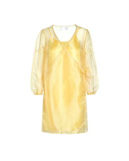 HOSBJERG ROCKET ORGANZA DRESS YELLOW