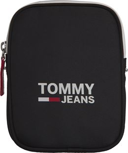 TOMMY HILFIGER COOL CITY COMPACT SKULDERTASKE BLACK