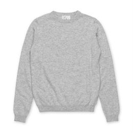 PEOPLE´S REPUBLIC OF CASHMERE WOMENS ROUNDNECK ASH GREY