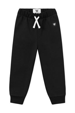 WOOD WOOD DOUBLE A SWEAT RAN PANT BLACK