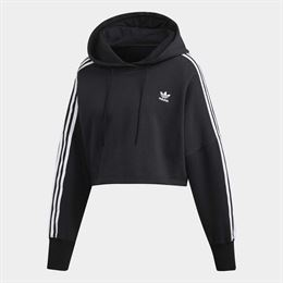 ADIDAS ORIGINALS CROPPED HOODIE SORT