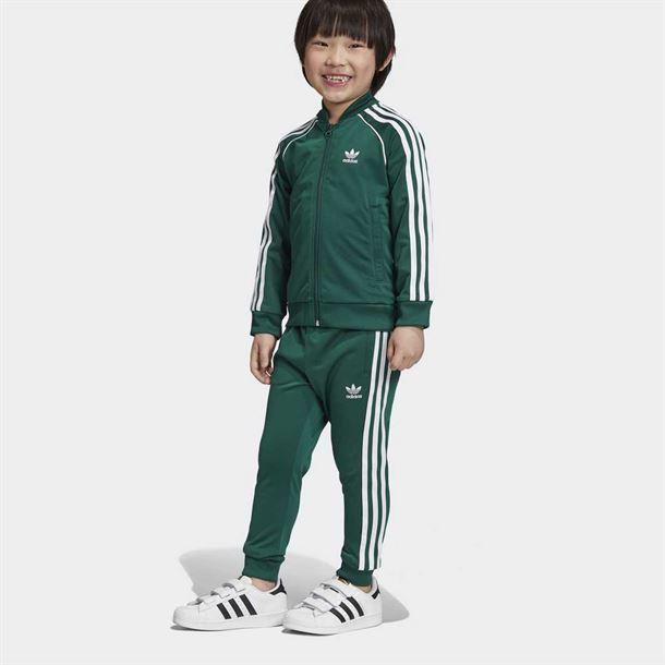 Adidas Originals Superstar Track Top GreenWhite