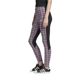 ADIDAS ORIGINALS AOP TIGHTS MAGBER/BLACK