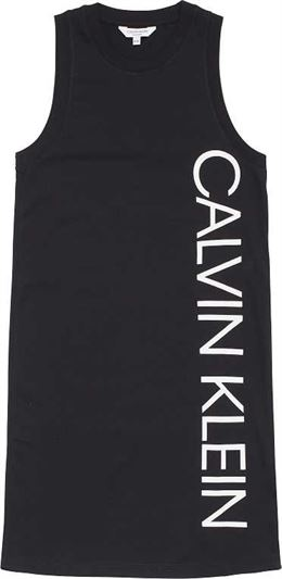 CALVIN KLEIN TANK DRESS BLACK