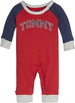TOMMY HILFIGER BABY TOMMY COVERALL L/S RED