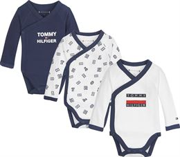 TOMMY HILFIGER BABY BODY 3 PACK GIFTBOX BLACK