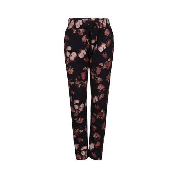 PETIT BY SOFIE SCHNOOR SWEAT PANT BLOMSTER BLACK