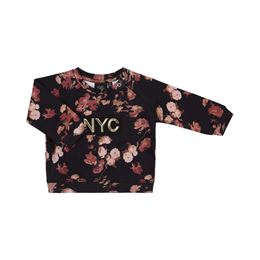 PETIT BY SOFIE SCHNOOR SWEATSHIRT BLACK FLOWER
