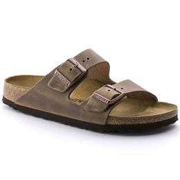 BIRKENSTOCK ARIZONA NARROW FIT TABACCO BROWN