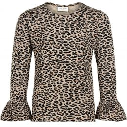 THE NEW LEX BLUSE LEOPARD
