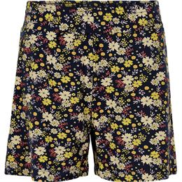 THE NEW ORCHID SHORTS BLACK IRIS