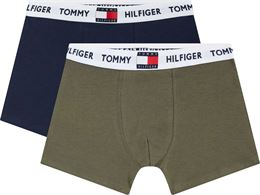 TOMMY HILFIGER 2 PACK BOXER BIREF NAVY/ARMY