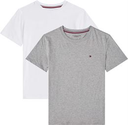 TOMMY HILFIGER 2 PACK CN TEE SS GREY/WHITE