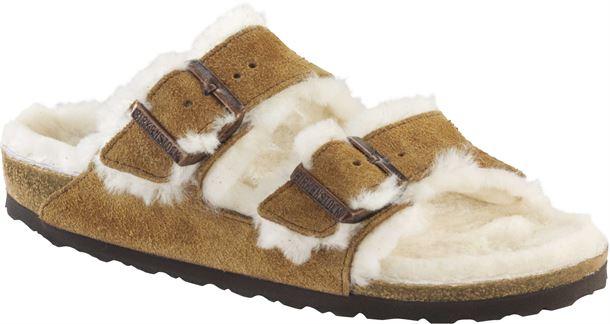 Birkenstock Arizona Narrow Mink Fur Fit gvYIb6fy7