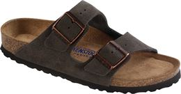 BIRKENSTOCK ARIZONA NARROW FIT SANDAL MOCHA