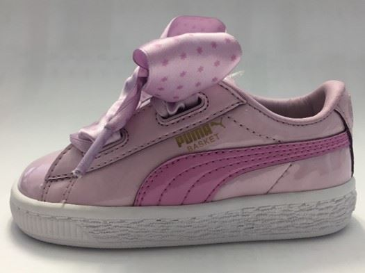 sale retailer 28d16 b2a8a PUMA BASKET HEART STARS PS WINSOME ORCHID-ORCHID-GOLD