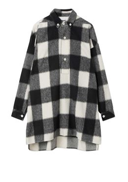 HOPE PITCH SHIRT OFF WHITE CHECK
