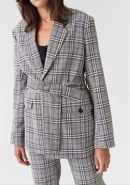 HOPE LOFT JACKET GREY CHECK