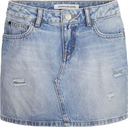 89d47bdfe5cd CALVIN KLEIN SKIRT BLUE