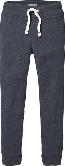 TOMMY HILFIGER BOYS BASIC SWEATPANTS DARK GREY