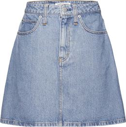 CALVIN KLEIN JEANS HIGH RISE MINI SKIRT WOMEN