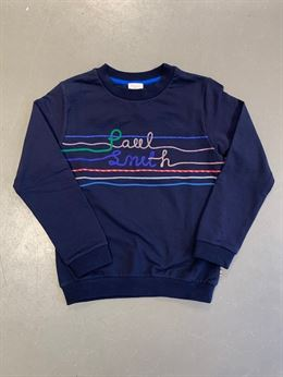PAUL SMITH LOGO SWEAT SHIRT NAVY